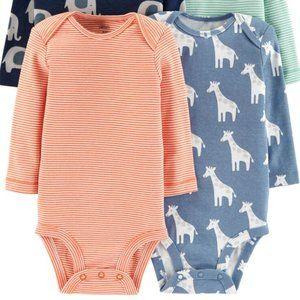 3 FOR $25 Carters Animal Giraffe Bodysuit Onesie